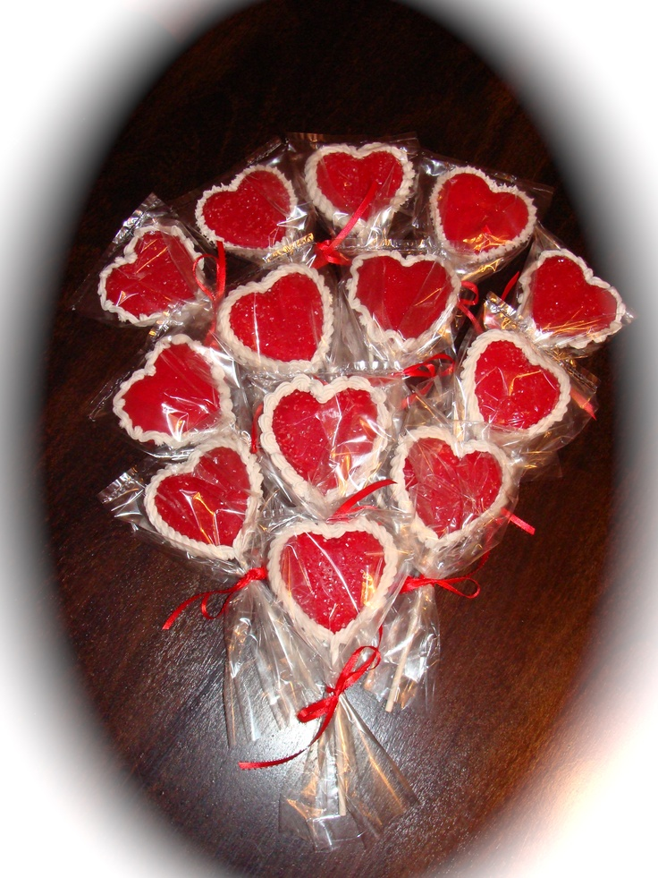 valentine cookie bouquet ideas