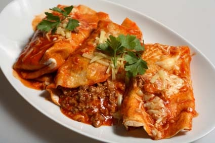 Easy red enchiladas | AWESOME RECIPES | Pinterest