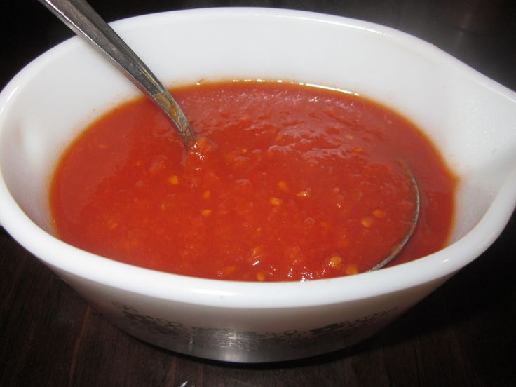 Homemade Fresh Tomato Sauce | recipes | Pinterest