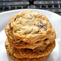 ... gluten-free chocolate cookies based on David Leite's 36-hour cookies