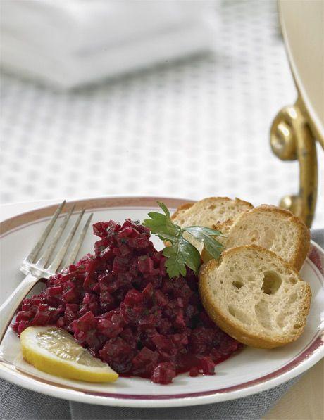 Beet Tartare | .Salads | Pinterest