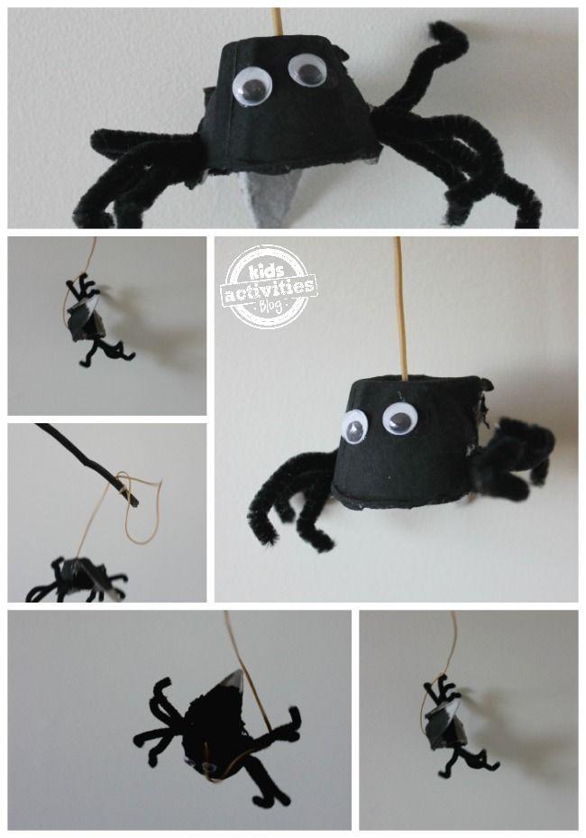 An adorable spider craft!