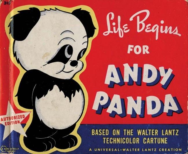 Andy panda vintage design pinterest for Andy panda jardin
