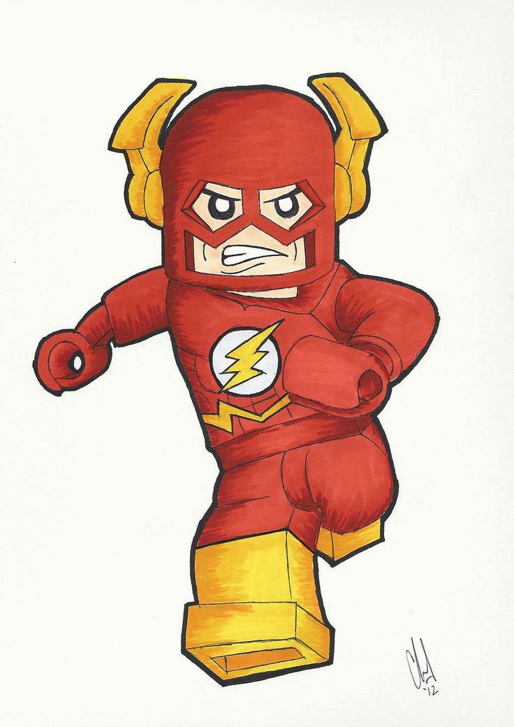 Lego Flash | Lego Super Hero | Pinterest