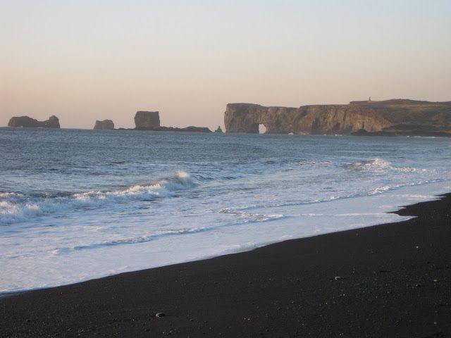 Black Sand Beach Near Vik Iceland Travel 2012 Iceland