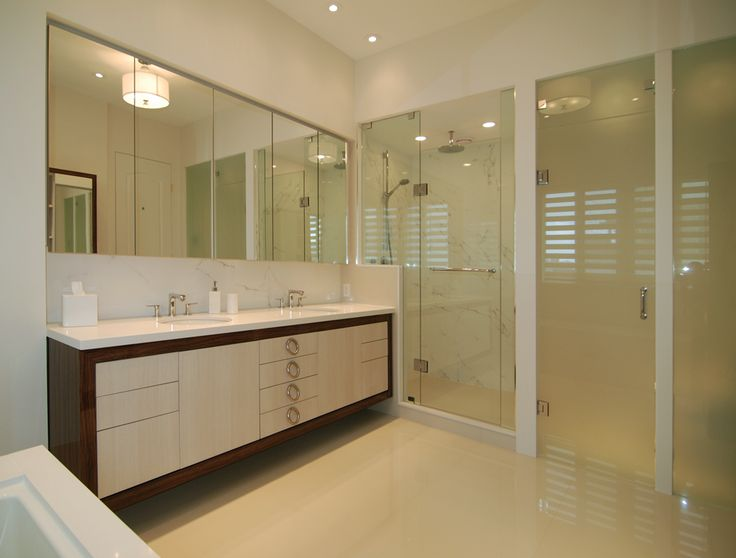 Sleek Bathroom Design Complete