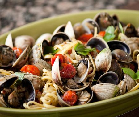 ... linguine with oven roasted tomato puttanesca linguini with clam sauce