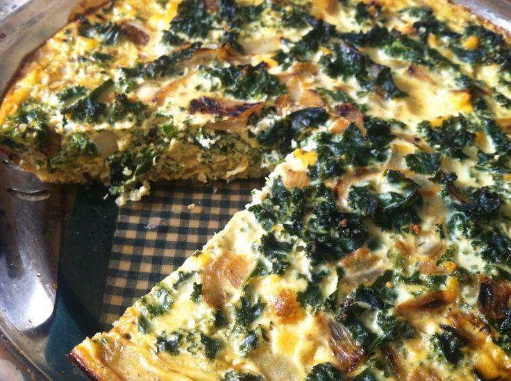 crustless kale amp quinoa quiche makes 6 servings prep time 20 minutes ...