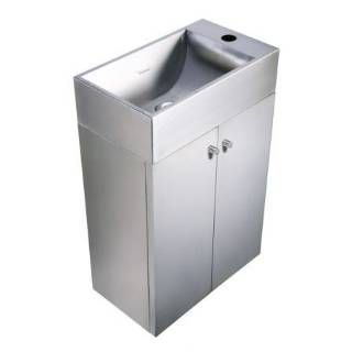 Free Standing Stainless Steel Sink : ... WHE213BTSS Free Standing Stainless Steel Sink Vanity - Coun