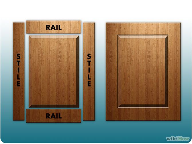 How to make cabinet doors - How to make your own kitchen cabinets step by step ...