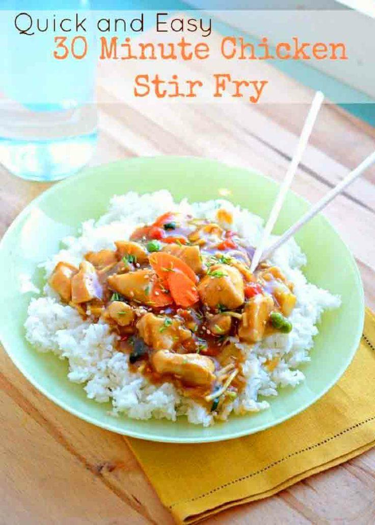 Quick and Easy Stir-fry | Winner, winner, chicken dinner! | Pinterest
