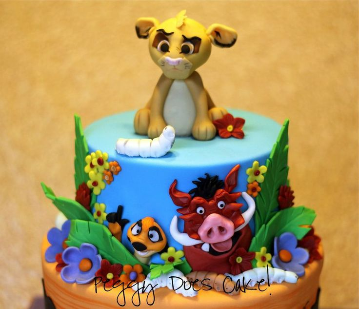 Pin Lion King Cake Topper Decorating Community Cakes We ...