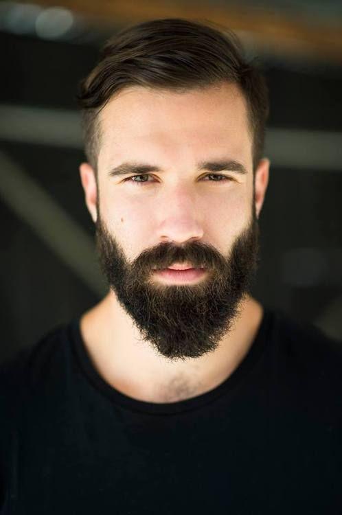 Handsome Scruffy Bearded Man Handsome Scruffy Bearded