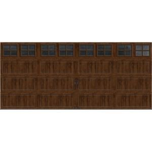 Gallery collection 16 ft x 7 ft 18 4 r value intellicore for 16 ft garage door panels