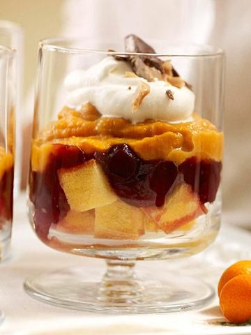 Pumpkin Trifle ~ Top off your Thanksgiving feast with our recipes for ...