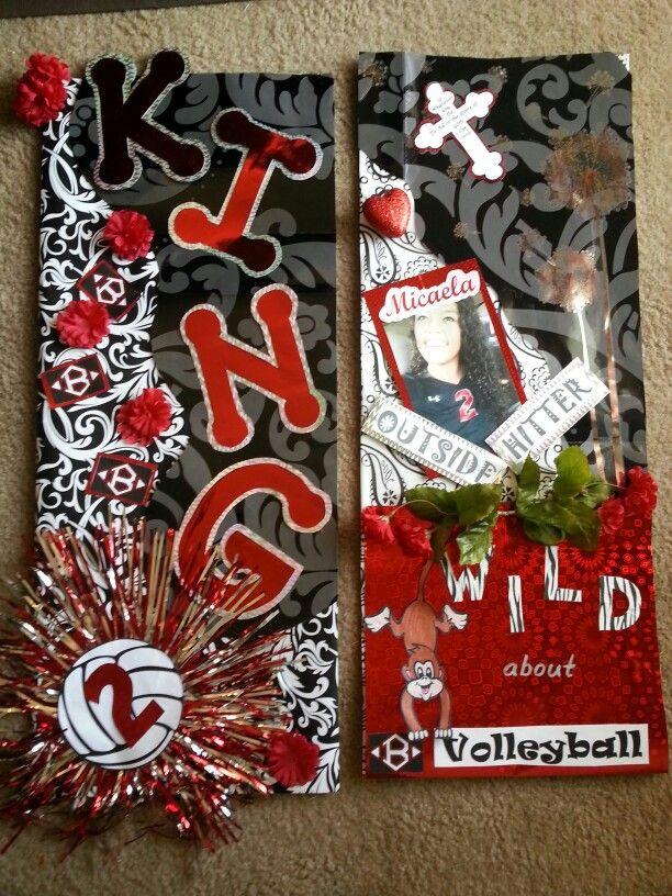 Volleyball locker decorations inspiring ideas pinterest