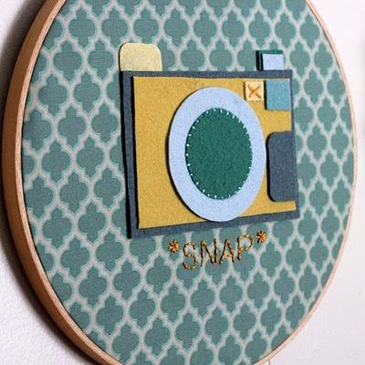 Embroidery Hoop Art Tutorial  Mini Martha Stewart