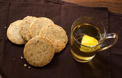 Hazelnut-Anise Cookies Apple Brandy Hot Toddy