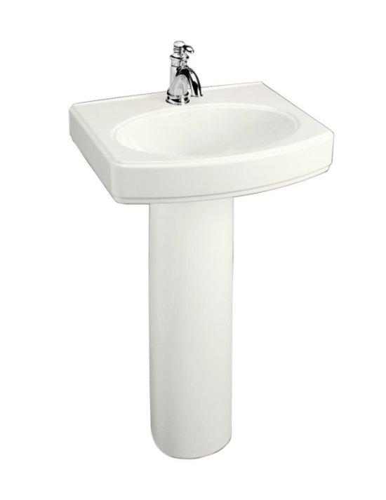 2 Pedestal Sinks Bathroom : Pedestal Sink