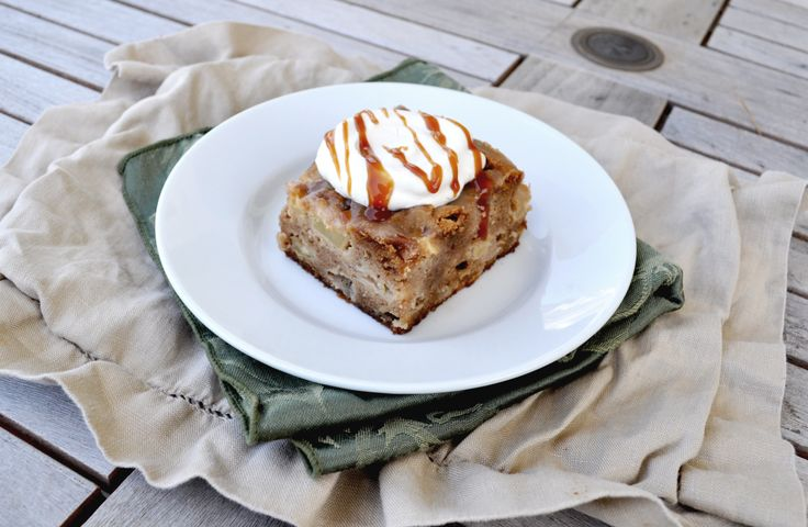 Pear Ginger Cake With Whipped Cream And Rum-Caramel Glaze ...