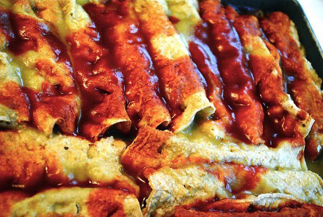 Butternut Squash Enchiladas #vegan | Favorite Recipes | Pinterest