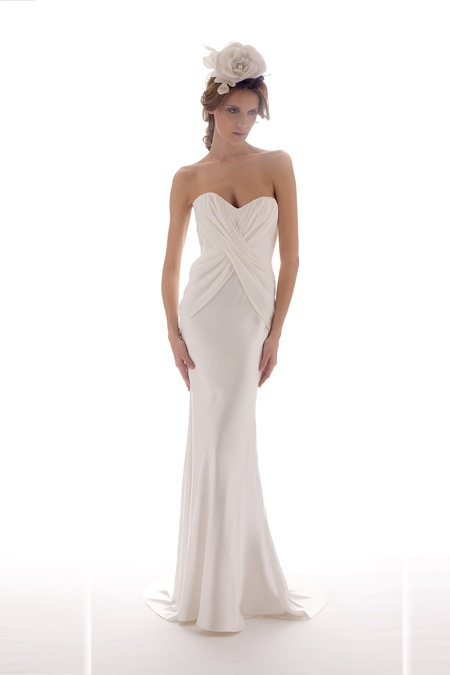 Mermaid Style Wedding Dress from Elizabeth Fillmore