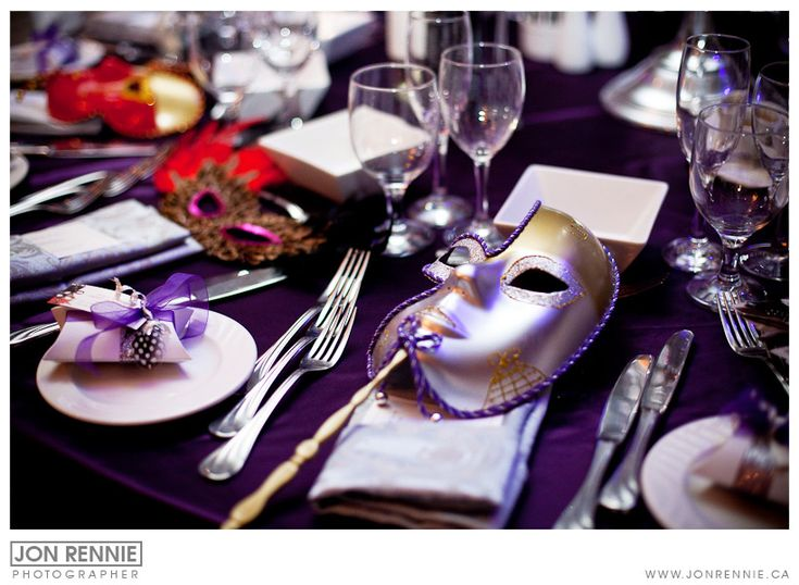 Masquerade Table Decorations