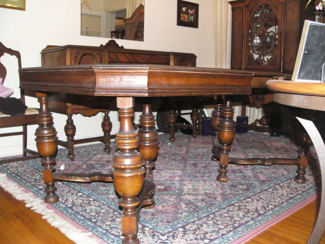 1920s dining table future dwellings pinterest for Table 6 kitchen canton ohio