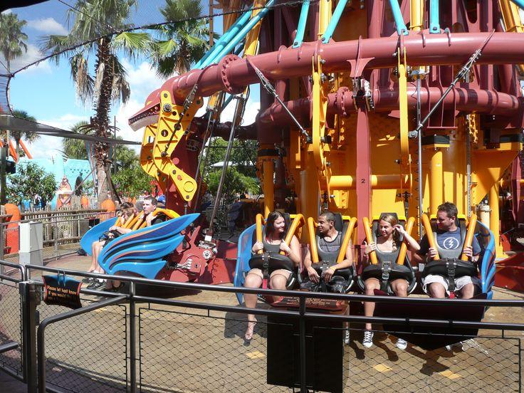Falcon's Fury Busch Gardens