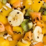 Tropical Fruit Salad with Cacao Nibs Recipe