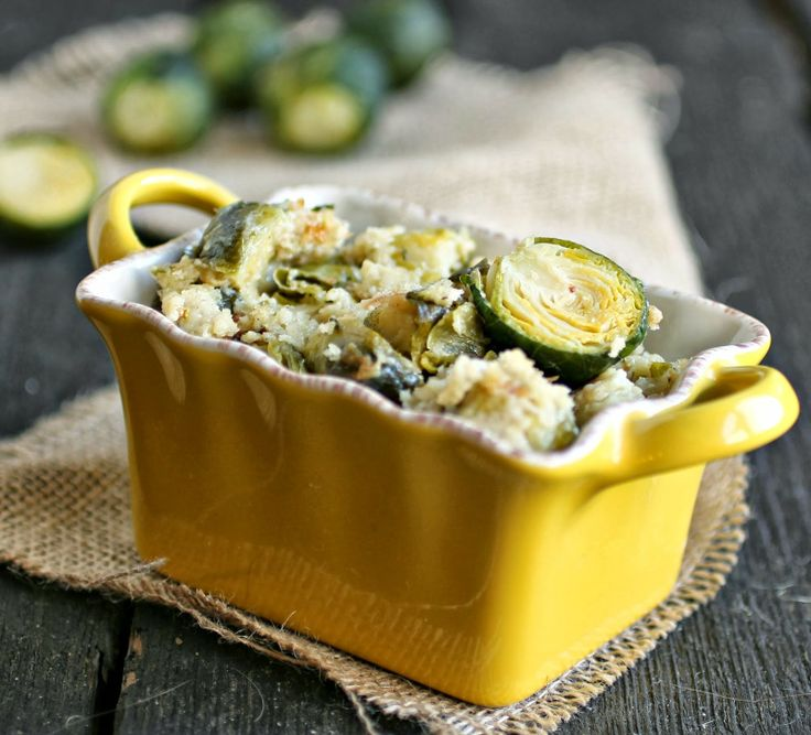 Hungry Couple: Brussels Sprouts Gratin | 0 inspiring food - savory ...