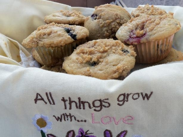Very Berry Muffins from Food.com: The original recipe used frozen ...