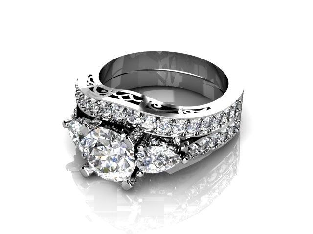pin interlocking wedding ring tattoos rings summer 2000