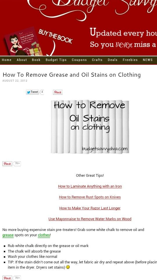 How To Remove Grease Stains From Clothes Home Remedies  Apps