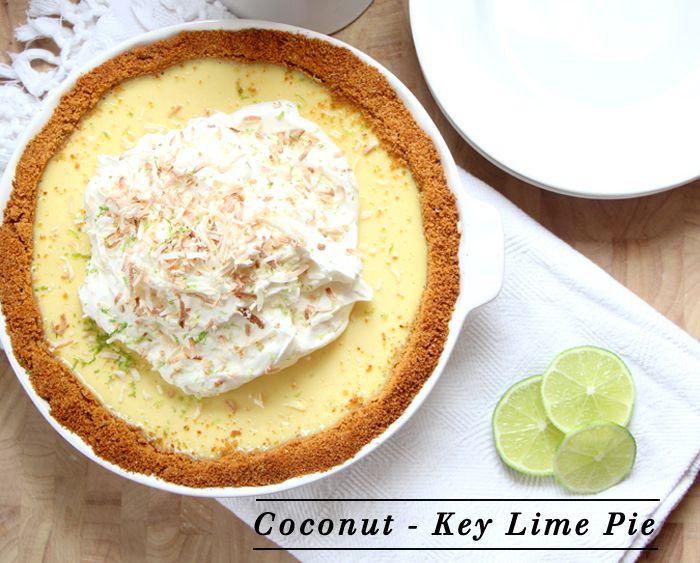 coconut pie, martha stewart coconut key lime pie, graham cracker crust ...