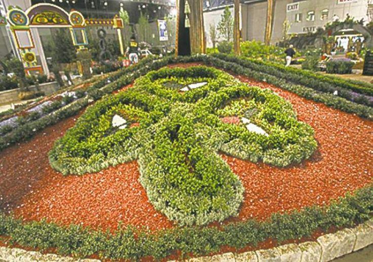 26 marvellous knot garden design ideas for English knot garden designs