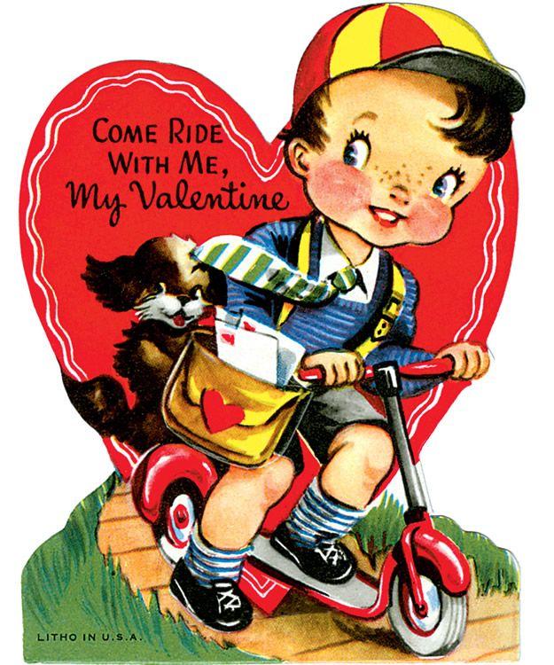 valentine art book