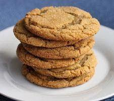 Chewy Brown Sugar Ginger Cookies | Foodie Food | Pinterest