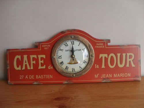 Cafe De La Tour Paris Clock