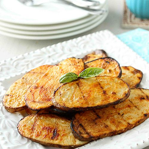 Grilled Potatoes with Smoked Paprika Recipe, Plus Get Grillin' Side ...