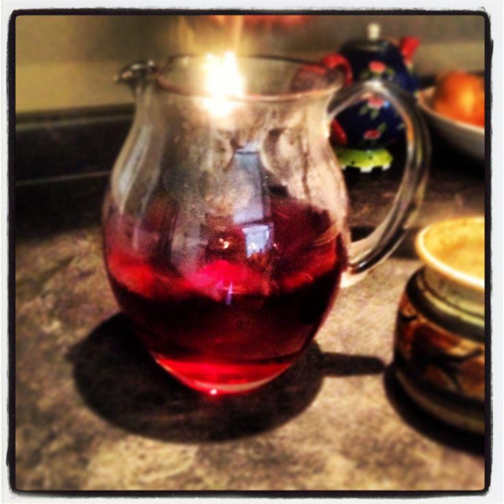Best iced tea ever~David's tea strawberry rhubarb parfait tea, brew ...