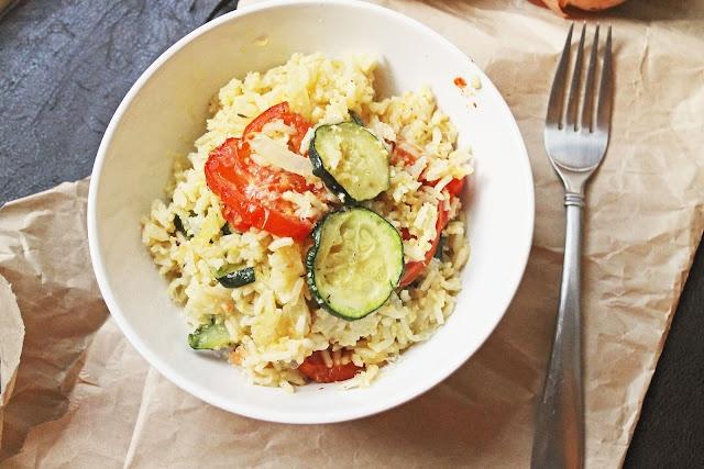 Zucchini Rice Gratin Recipe — Dishmaps