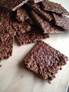 no-bake chocolate oat bars | Holiday Candy and Cookies-Good Year Roun ...