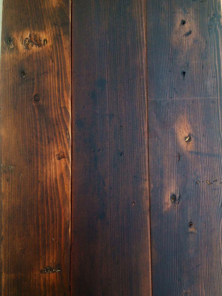 Douglas fir black stain flooring pinterest