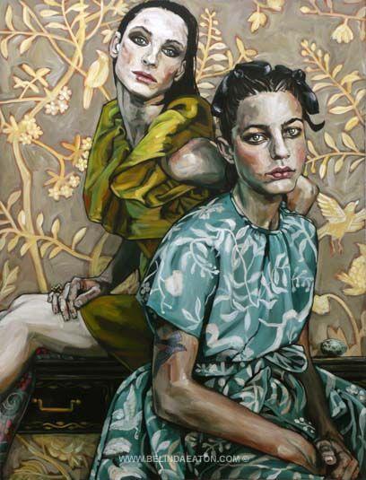 Belinda Eaton: acrylic on canvas