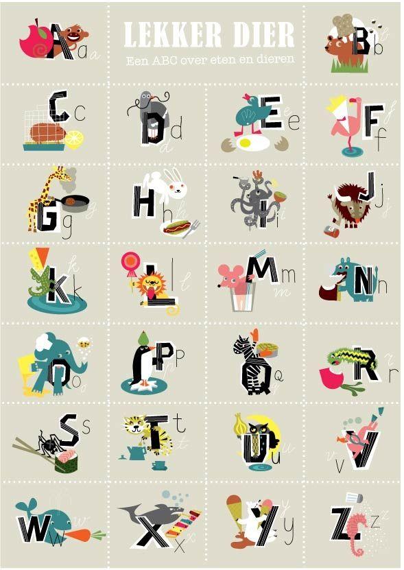 alfabetische lijst dieren