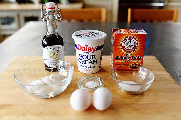 Edna Mae's Sour Cream Pancakes   Recipe