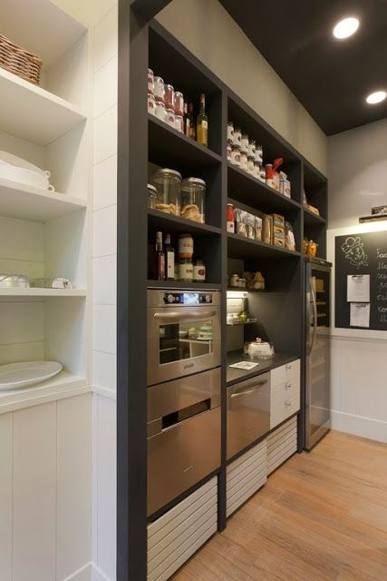 Walk in pantry house ideas pinterest for Walk in pantry