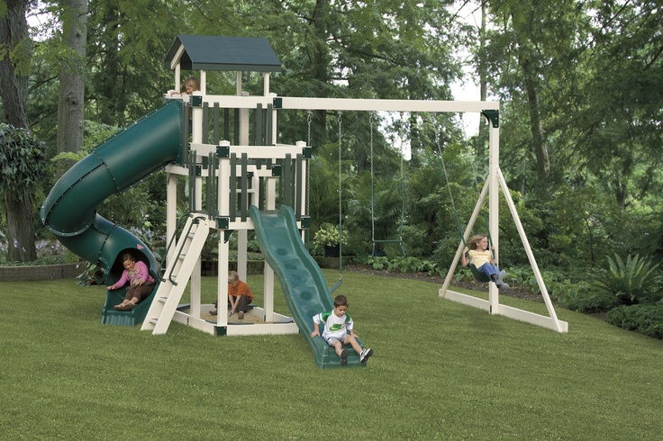 Experience years of outdoor fun without any splinters, staining, sealing, or painting!