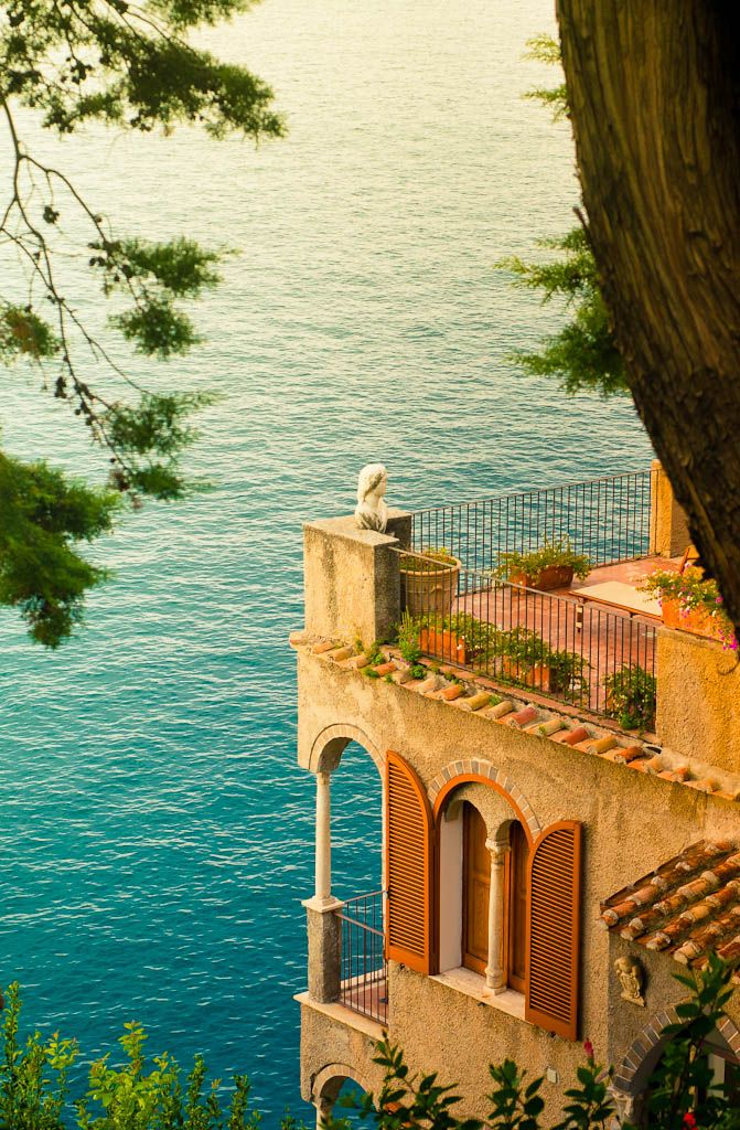 Ocean View Villa In Italy A Room With A View Pinterest